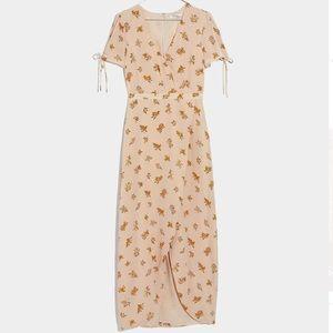🆕 Listing! Madewell field bouquet silk dress